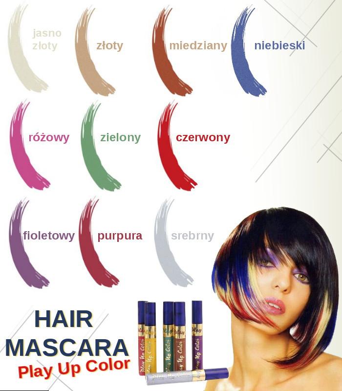 Play Up Color Hair Mascara